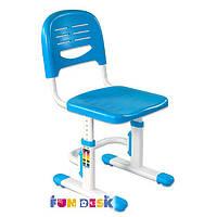 Растущий стул-трансформер для детей от 3 до 14 лет ТМ FunDesk Голубой SST3 BLUE