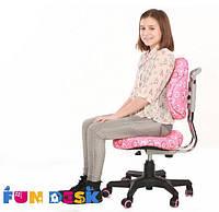 Ортопедическое кресло для детей от 5 до 14 лет ТМ FunDesk Розовый SST5 Pink