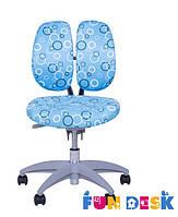 Ортопедическое детское кресло SST9 Blue (Нагрузка до 80 кг) ТМ FunDesk Голубой SST9 Blue