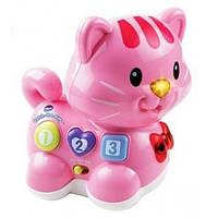 VTech Интерактивный музыкальный котенок розовый Catch-Me-Kitty Pink