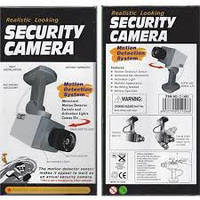 Муляж камеры видеонаблюдения CAMERA DUMMY XL018, видеонаблюдение муляж, уличная камера муляж