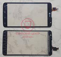 Сенсорний екран для смартфону LG D685 D686 G Pro Lite, тачскрін чорний