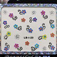 Наклейки для ногтей 3D Design Nail Sticker LB-l-20