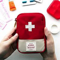 Походная аптечка-органайзер First-Aid Pouch, мини аптечка 18х14 см