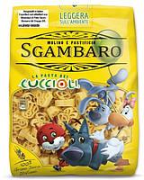 Макароны детские Sgambaro La Pasta Cuccioli (из муки твердых сортов), 500 г., фото 1