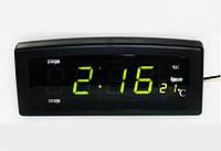 ЛУЧШАЯ ЦЕНА! Электронные часы Caixing CX 818 с большими светящимися цифрами   1001092 Электронные часы Caixing CX 818, лучшие электронные часы,