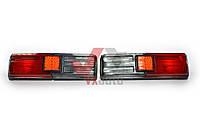 Фонарь задний ВАЗ 21011 черный корпус тюнинг серо/красный рассеиватель Формула света к-т