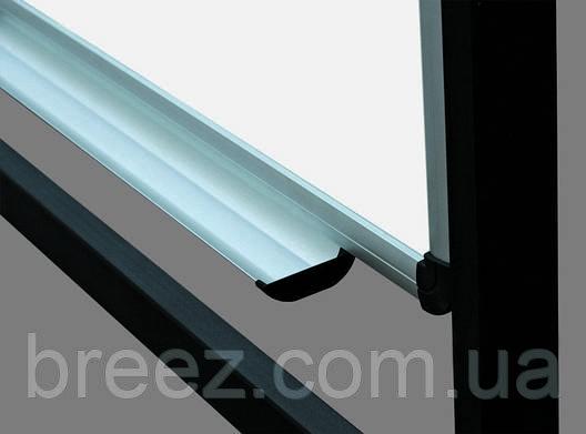 Оборотная доска для маркера ABC Office 100 x 150 см, алюминиевая рама, фото 2