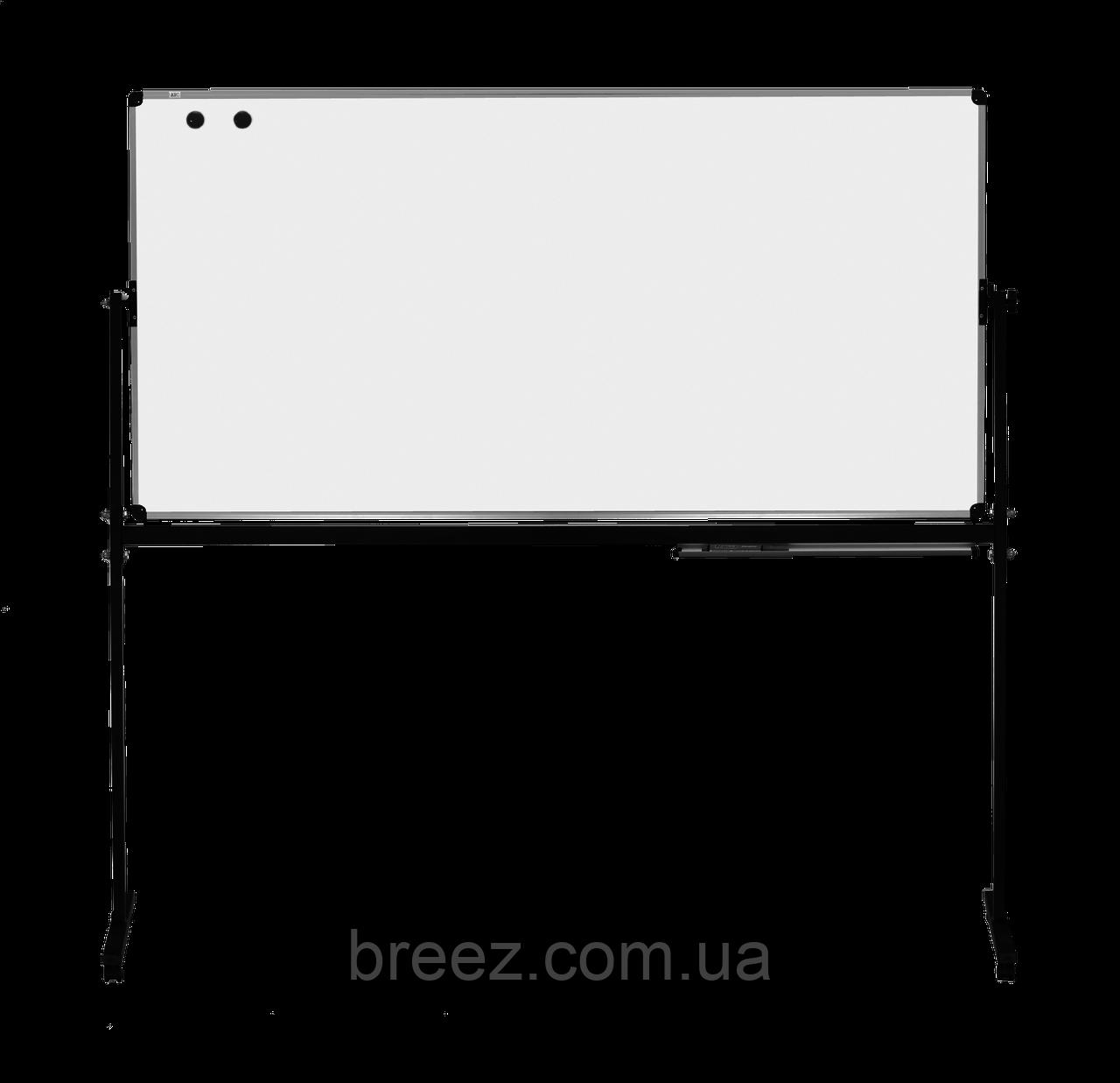 Оборотная доска для маркера ABC Office 90 x 120 см, алюминиевая рама