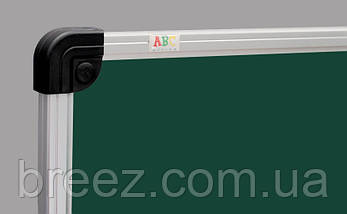 Оборотная маркерно-меловая доска ABC Office 90 x 120 см, алюминиевая рама, фото 2