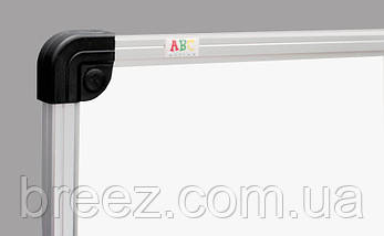 Маркерная доска ABC Office 100 x 150 см, алюминиевая рама S-line, фото 2