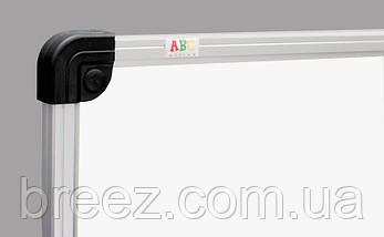 Маркерная доска ABC Office 50 x 90 см, алюминиевая рама S-line, фото 2