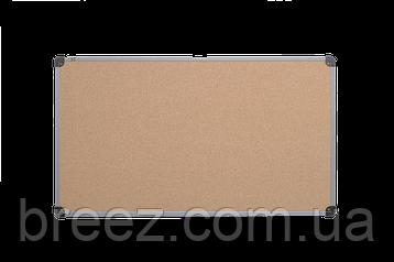 Пробковая доска ABC Office Эконом 90 x 120 см, пластиковая рама, фото 2