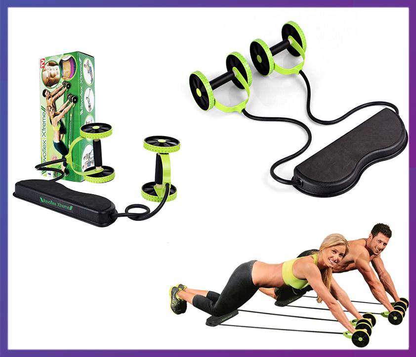 Тренажер эспандер Revlex Xtreme-44 упражнения для всех мышц