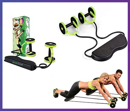 Тренажер эспандер Revlex Xtreme-44 упражнения для всех мышц, фото 2