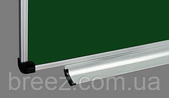 Меловая доска ABC Office 100 x 200 см, алюминиевая рама S-line, фото 2
