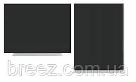 Доска меловая магнитная черная безрамная 45х60 Тетрис, фото 2