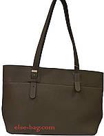 Женская сумка из эко кожи с длинными ручками