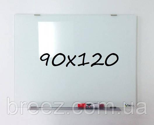 Доска стеклянная маркерная 90х120 Тетрис, фото 2