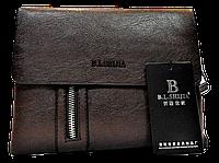 Мужская сумка через плечо из искусственной кожи коричневого цвета CМ-59 (М), фото 1