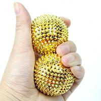 Массажные шары для кисти рук Massaging Needle 2шт., 1001577, массажные шары для рук, массажные шары, шары массажные, шар массажный с шипами, массажер