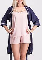 Комплект женский пижама летняя-халат К023п