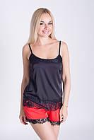 Женская летняя пижама, майка и шорты, П044х