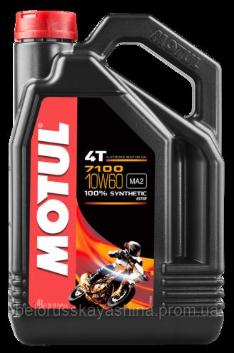 MOTUL 7100 4T SAE 10W60 (4L)