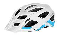 Шолом CUBE PRO white-blue шлем, велошлем Новий