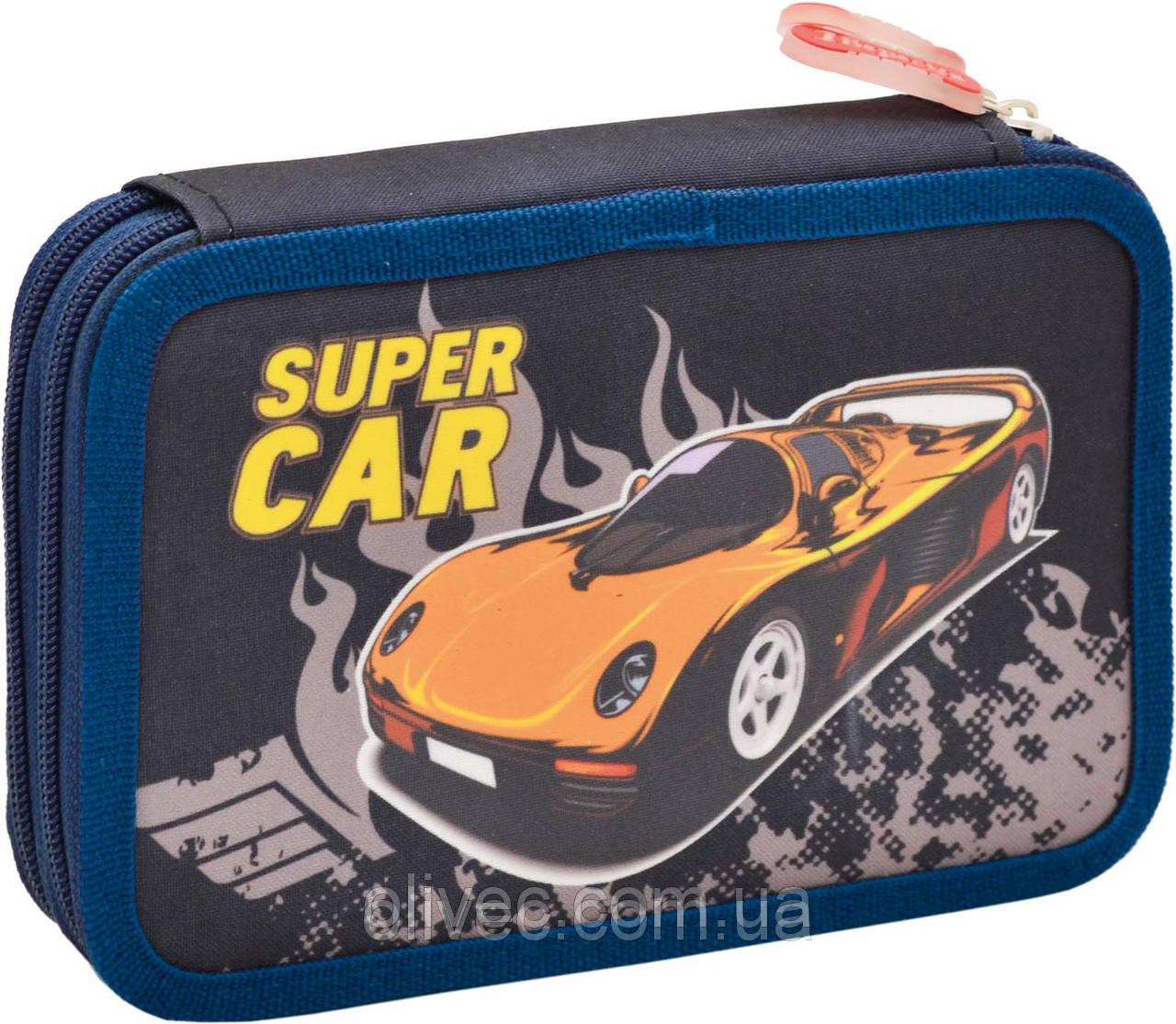 "Пенал двойной ""Super Car"" 19,5х12,5х4,2 см."