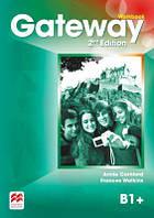 Рабочая тетрадь Gateway 2nd edition B1+ Workbook