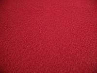 Флис средней мягкости красный