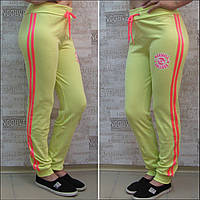 Спортивные брючки женские, cotton, 44-52 р/р,Турция. Спортивные штаны женские из хлопкового трикотажа.