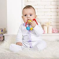 Детский комбинезон для новорожденных белый