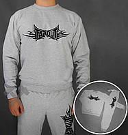 Серый спортивный костюм Tapout