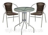 2 крісла + столик, оберіть потрібний колір