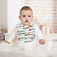 Детский комбинезон для новорожденных молочный
