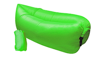 Ламзак Зеленый надувной лежак