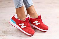 Красные кроссовки замшевые Стиль. Мода