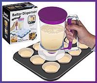 Диспенсер дозатор для жидкого теста Batter Dispenser