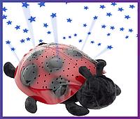 Ночник — проектор звездного неба Божья коровка Twilight Ladybug Night Light Star