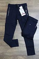 Стрейчевые брюки  для девочек р.4-8л