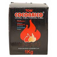 Уголь кокосовый 1 кг (72 шт.) U15, кокосовый уголь для кальяна
