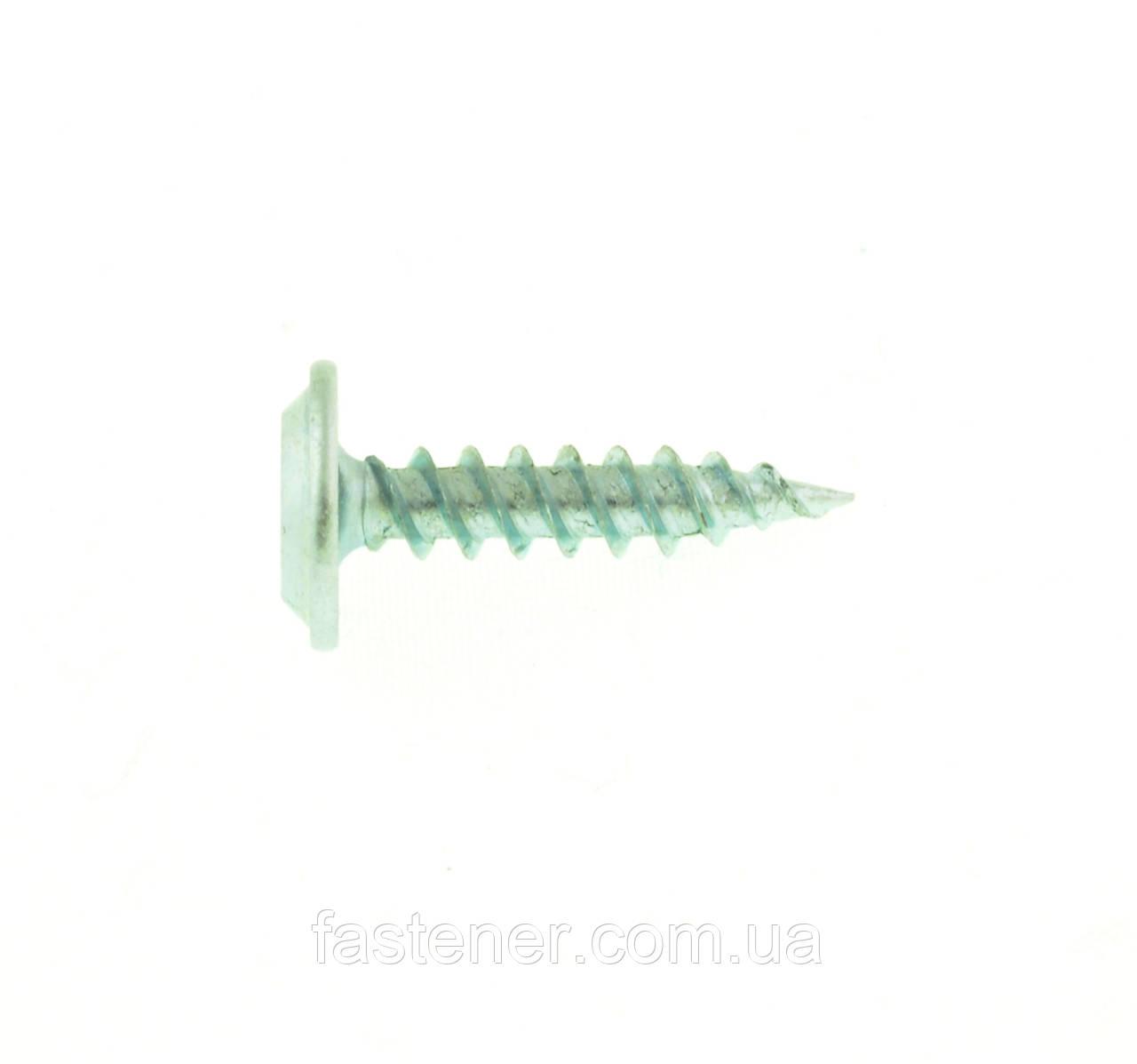 Саморез монтажный с прессшайбой 4,2х19, оцинк., PH2, упак.-250 шт, Швеция