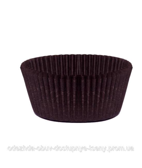 Формы для кексов - коричневая