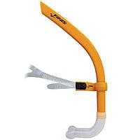 Трубка для бассейна (плавания кролем, вольный стиль) Finis Glide Snorkel Sunset Orange
