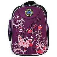 Рюкзак детский школьный для девочек (35х30см.) 5081-15 сливовый