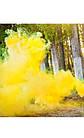 Цветная ручная дымовая шашка YELLOW SMOKE, время: 60 секунд, цвет дыма: желтый, фото 2