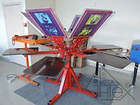 Станок для трафаретной печати 6х6 HSP-2-6x6-ET