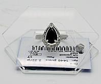 Кольцо капля с камнями серебро 925*